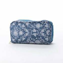 Japan Only LeSportsac Rectangular Cosmetic Floral Race Amulet Access $70.90