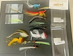 Rare Antique Vintage Lot Of Fly Fishing Fly Feathered Lures Collection Lqqk