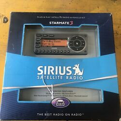 Sirius St3tk1 For Sirius Car And Home Satellite Radio Receiver New Open Box