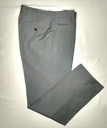 Brooks Brothers Clark Fit Gray Supima Cotton Chinos 35w 34l 148