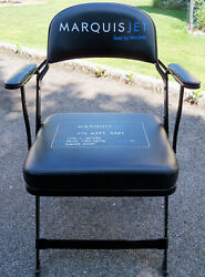 ⚾ Barry Bonds Game Used Shea Stadium Clubhouse Chair Seat Giants Seaver Alonso ⚾