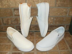 New Nike Court Legacy Slip-on Canvas Ladyand039stennis Shoe/cw6540 White Msrp 55