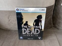The Walking Dead - Chinese Big Box Edition Pc New And Sealed