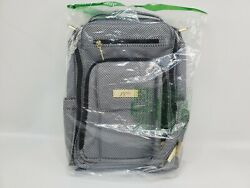 JuJuBe Be Right Back Travel Backpack Diaper Bag Grey Black White Queen of Nile $100.00