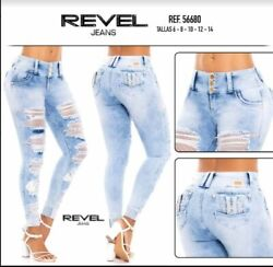 Revel Jeans Colombianos Colombian Push Up Jeans Levanta Cola Butt Lift