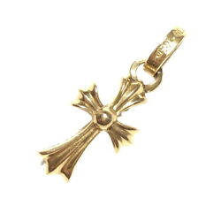 Secondhand Chrome Hearts Necklace 22k Baby Fat Charm Original Belonging Crs Bby