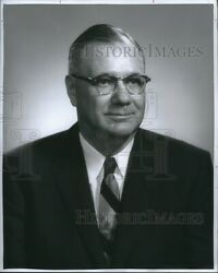 Press Photo T H Stanley Chairman Of The Board Of Directors Royal Crown Cola 8x10