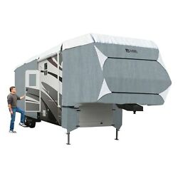 Classic Accessories Polypro 3 Gray/white 5th Wheel Trailer Cover Up To 29and039