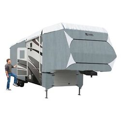 Classic Accessories Polypro 3 Gray/white 5th Wheel Trailer Cover Up To 41and039