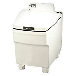 Thetford Electra Magic Model 80 Ivory Plastic Built-in Toilet W Control Panel
