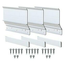 Carefree Ky5552a Ascent White Slide-out Awning Mounting Brackets