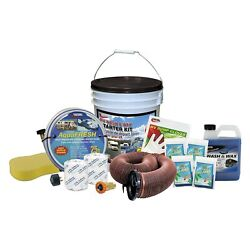Valterra Deluxe Starter Kit In A Bucket W Wash And Wax