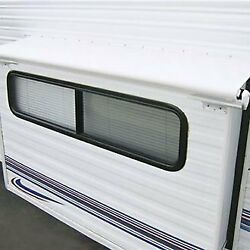 Carefree Alpine 130.5w White Rv Slide-out Awning W Weatherguard And Rails