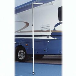 Carefree 880503wht Satin Ground Support Add-on For Rafter 6 And 6gs