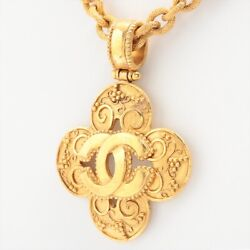 Coco Mark 96a Necklace Gold Plated Gold