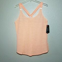 Under Armour Tank Top L Cool Switch Reflector Racerback Breathable Laser Mesh