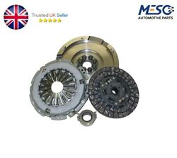 Solid Flywheel Conversion Clutch Bearing Fork Kit For Bmw 5 E60 520 D 2005-2009