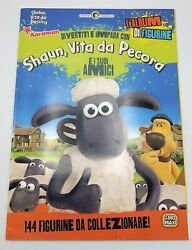 Shaun Life From Sheep And The Sampler Amici Album Set Figurines Giromax