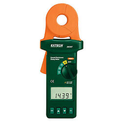 Extech 382357-nist Clamp-on Ground Resistance Tester With Nist
