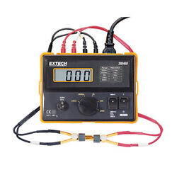 Extech 380462-nist 220v Portable Precision Milliohm Meter With Nist