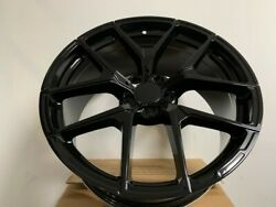 Set Of Four 19 Stag Black Mercedes Benz Y Spoke Amg Style Rims Fits 5x112