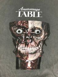 Anatomage Table T Shirt Size Xl Gray Tee