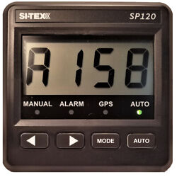 Si-tex Sp-120 System W/rudder Feedback Andamp Type S Mechanical Dash Drive S...