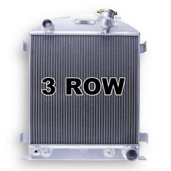 17 High 3 Row Radiator For 1932 1933 1934 Ford Low-boy Chopped Chevy V8 Engine