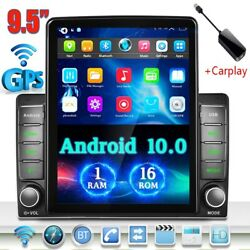Apple Carplay Double 2din 9.5and039and039 Android10.0 Car Stereo Radio Wifi Gps Fm Rds Mp5