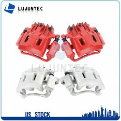 Front + Rear Brake Calipers Pairs For 2000 2001 2002 2003-2005 Ford Excursion
