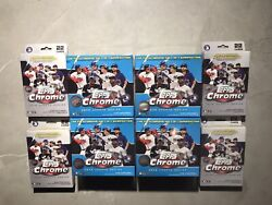 2020 Topps Chrome Update Series Factory Sealed 4 Blaster Boxes 4 Hanger Boxes