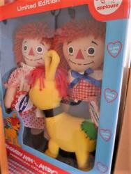 Raggedy Anne And Andy Country Fair 2003 In Japan Limited Soft Plush Rare Doll Jpn