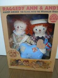 Raggedy Anne And Andy Festival 2002 In Japan Limited Soft Plush Rare Doll Stuffed
