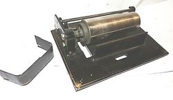 Edison Amberola Dx Phonograph Bed Plate Mandrelgears And Gear Cover