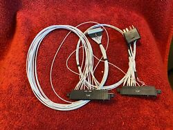 Aircraft Wiring Test Harness For King Kx 165 Nav/com With Connectors