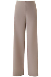 New The Row Aaron Palazzo Trousers 5095 W1786 Moonstone Authentic Nwt