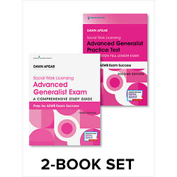 Social Work Licensing Advanced Generalist Exam Guide And Practice Test Set
