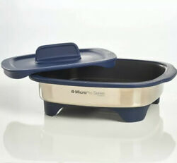 Tupperware Micropro Grill And Ring Stainless Microwave Grilling System Proseries