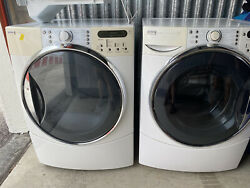 Kenmore Elite Quiet Pack 9 Extra Large Capacity Washer And Dryer Set Electric.