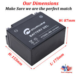 Agm Battery For Seadoo Gti Gts 1995 - 2001 1996 1997 1998 1999 2000