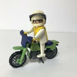 Out Of Print Playmobil 3301 Off-road Bikes Vintage