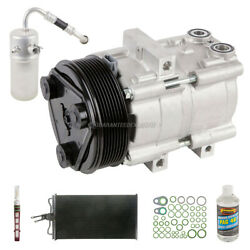 For Ford F-150 2004 2005 2006 Oem Ac Compressor W/ Condenser Drier Csw
