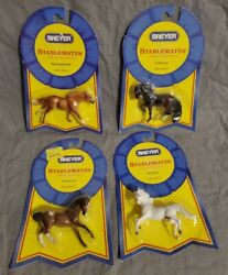 Lot of 4 Breyer Stablemates in Packages