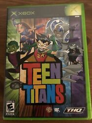 Teen Titans Microsoft Xbox 2006 Tested And Working. Missing Manual