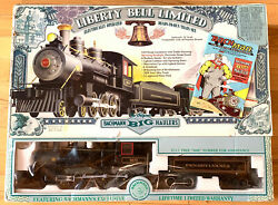 Bachmann Liberty Bell Limited Train Set 58616 G Scale Big Haulers 4-6-0 Steam