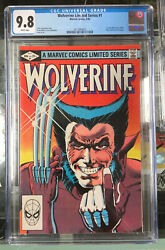 Wolverine Limited Series 1 September 1982 Cgc 9.8 201064003 White Pages