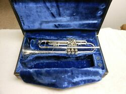 Bach Stradivarius Trumpet Year 1978 Model 37 Excellent Condition Silver Plated