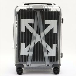 Rimowa X Off-white Carry Case Clear