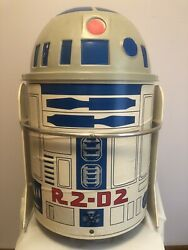 Rare Vintage 1983 Star Wars Life Size R2d2 Toy Toter Toy Box Rolling Wheels