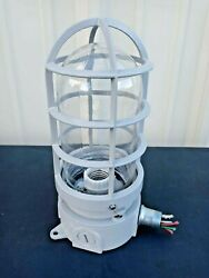 Cooper Industrial Wall Light Explosion Proof Glass Cage Steampunk Pallet Of 100